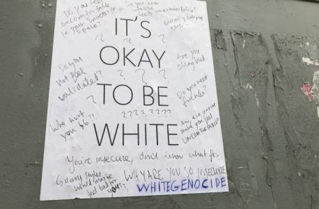 It's Not Okay To Be White